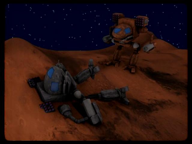Mars, Land of No Mercy