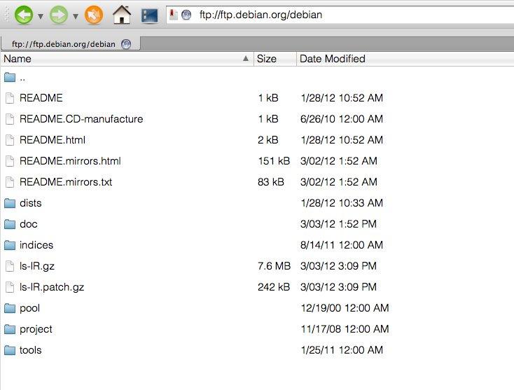 Cara konfigurasi ftp server di debian 6