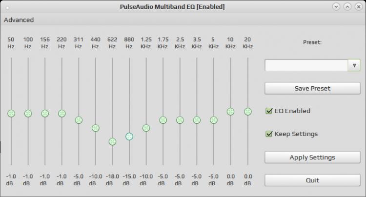 PulseAudio Equalizer - 14 Марта 2016 - IT News (hard, soft