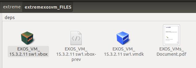Extreme Networks - распаковка образа Virtual ExtremeXOS 15.3.2.11 для VirtualBox