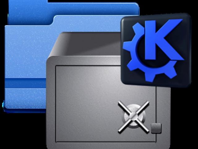 KDE Service Menu EncFS