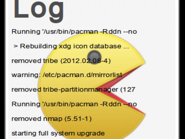 Pacman Log Viewer