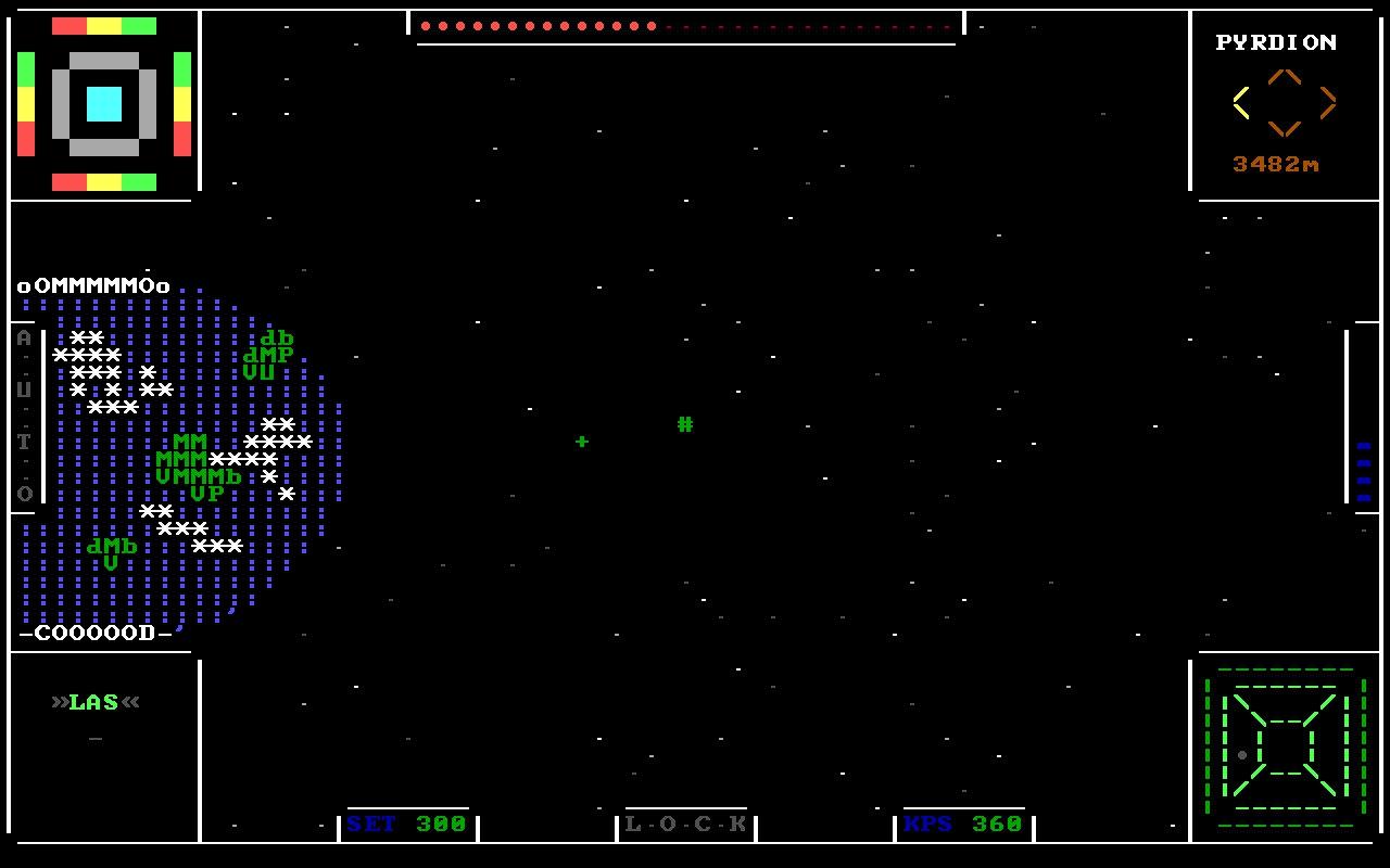 Ascii Sector / Оригинальный космический Rogue-like симулятор с