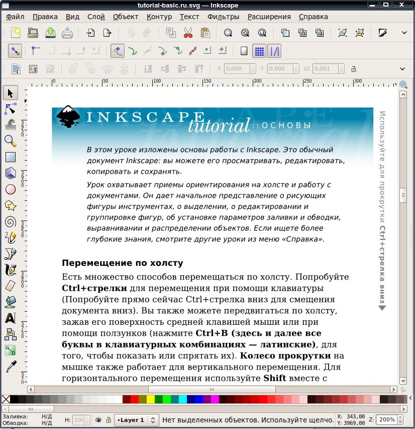 Inkscape руководство русский