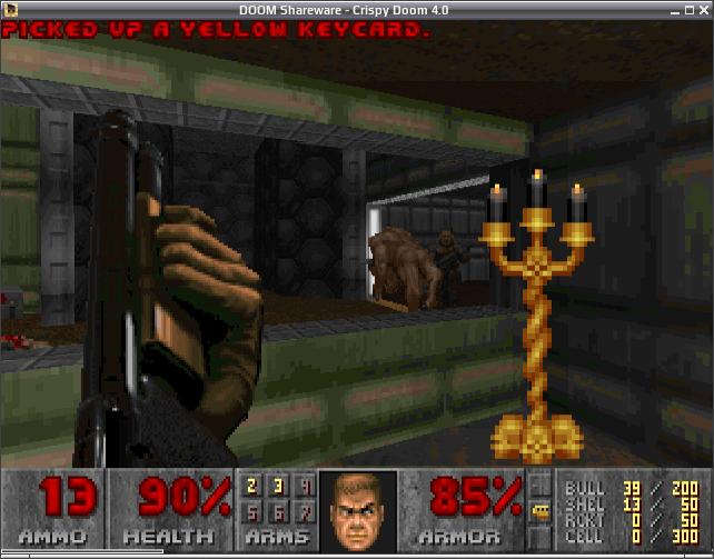 Crispy Doom / Созданная для повышения комфорта игры