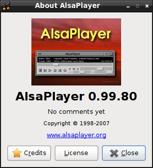 Плеер для Линукс, alsa