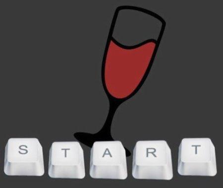 Wine - первый запуск