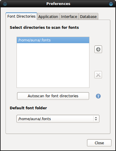 Font Manager Простое приложение для управления шрифтами для GNOME