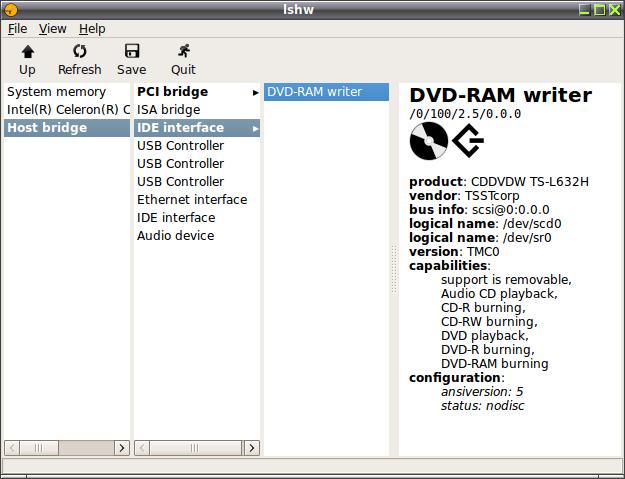 lshw (Hardware Lister) / Получение детальной информации о ...