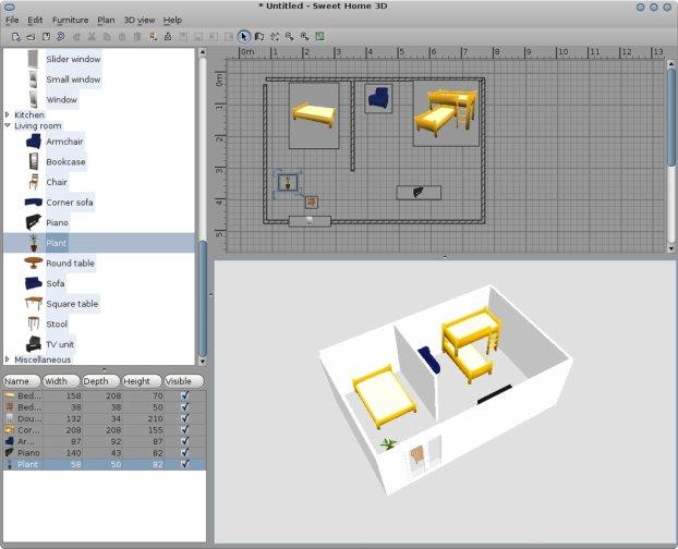 Интерьер 3d дизайн