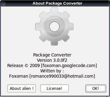 Alien - Package Converter
