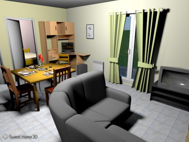 Sweet Home 3D - проектирование интерьера