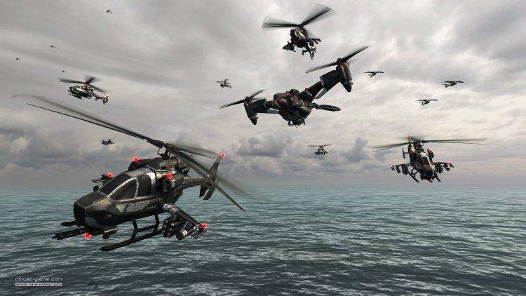 Oil Rush – морская стратегия реального времени