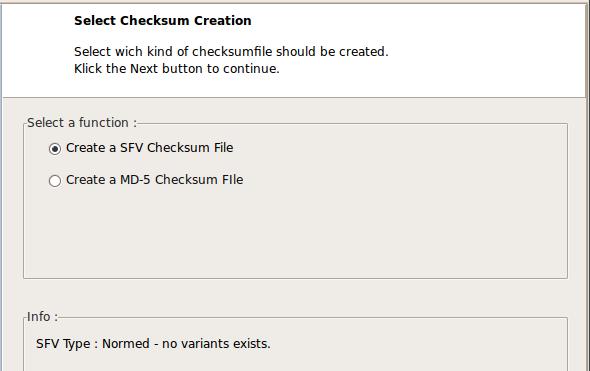 Checksum Control - как узнать контрольные суммы