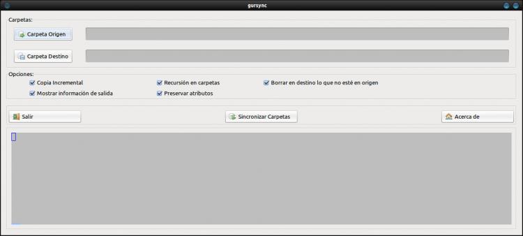 Gursync - Удобная утилита синхронизации каталогов