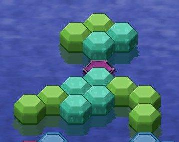 Hex-a-Hop - игра головоломка