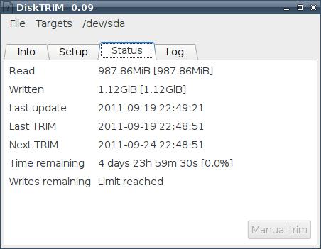 DiskTRIM - настройка и работа с ssd жесткий диск