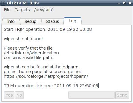 DiskTRIM - обслуживание SSD в Линуксе