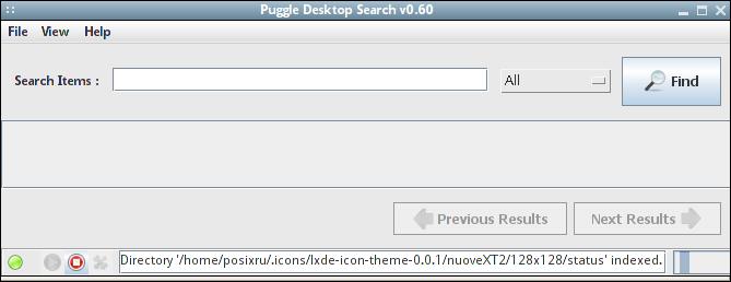 Puggle - Поиск файлов на компьютере