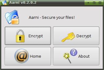 Aarni / Простой в использовании инструмент для шифрования файлов