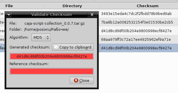 checksum Приложение для вычисления и проверки контрольной суммы  checksum поддерживает как одиночное так и массовое хеширование всех файлов из заданного каталога включая подкаталоги опционально используя алгоритмы