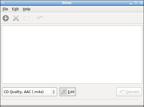 Gnac - аудио-коныертер для Gnome