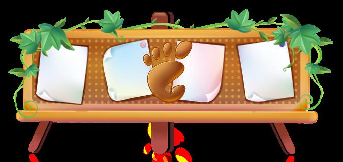 Gnome Paint - простоая программа для рисования