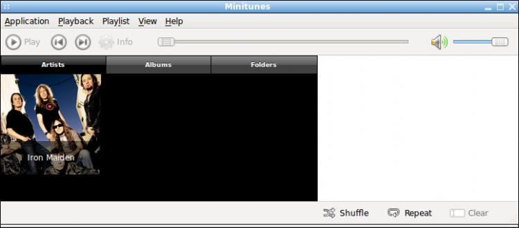Minitunes - музыкальный проигрыватель