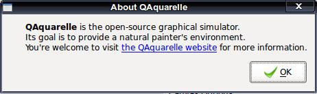 QAquarelle - рисование акварелью