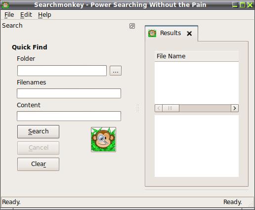 SearchMonkey - Инструмент для быстрого поиска файлов