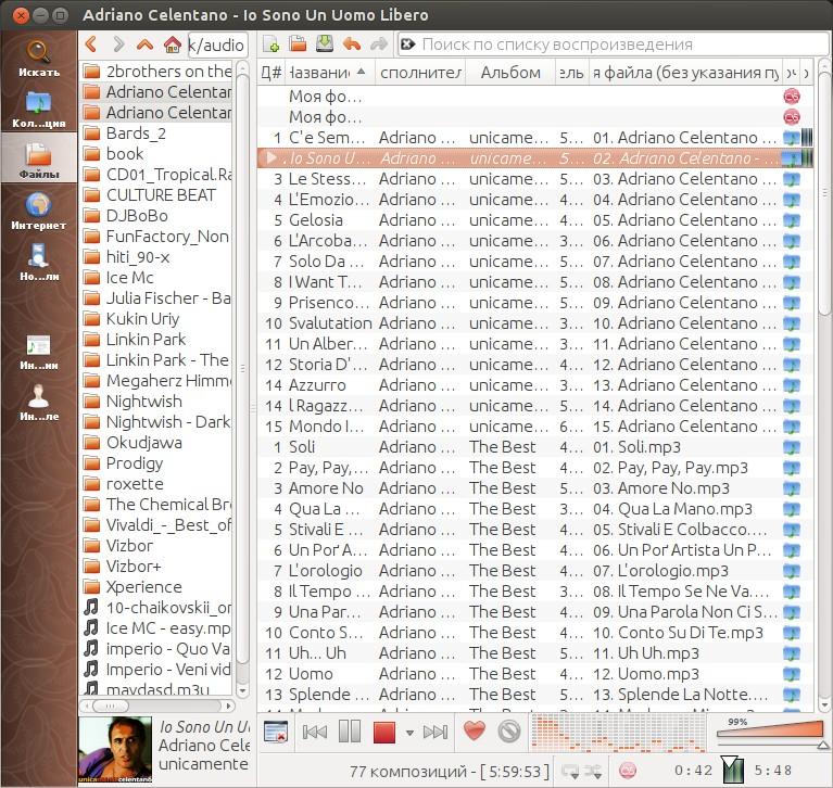 clementine - Adriano Celentano - Io Sono Un Uomo Libero