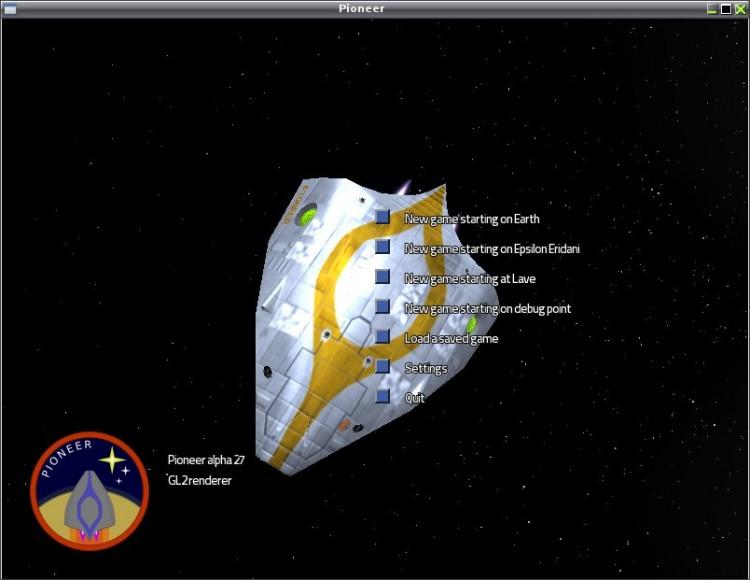 Pioneer - космический симулятор, с элементами экономической стратегии