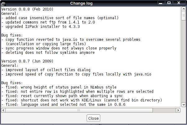 Capivara - двухпанельный файловый менеджер