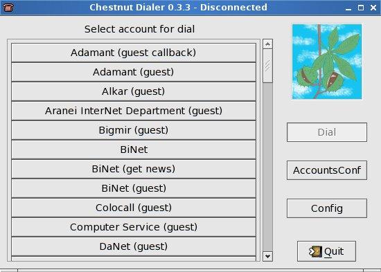 Chestnut Dialer