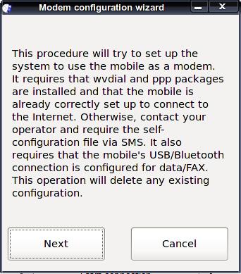 Contascatti UMTS/GPRS - подключение gprs в Linux