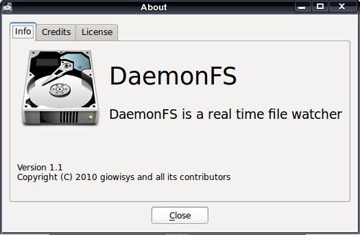 DaemonFS - контроль файлов на жёстком диске в Linux