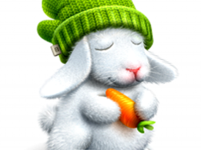 Bouncy the Hungry Rabbit