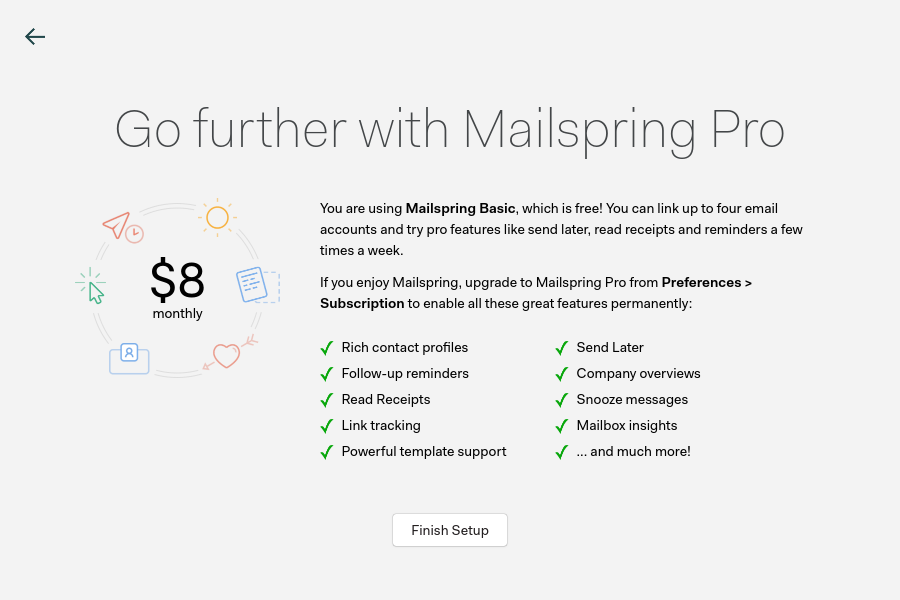 Mailspring / Интуитивно понятное и удобное приложение для работы с