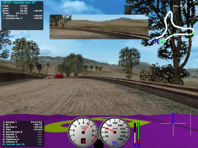 TORCS (The Open Racing Car Simulator)