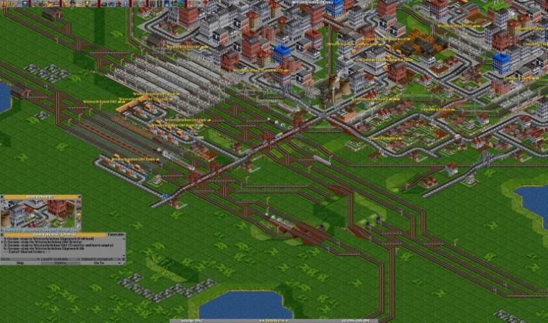 openttd развитие города