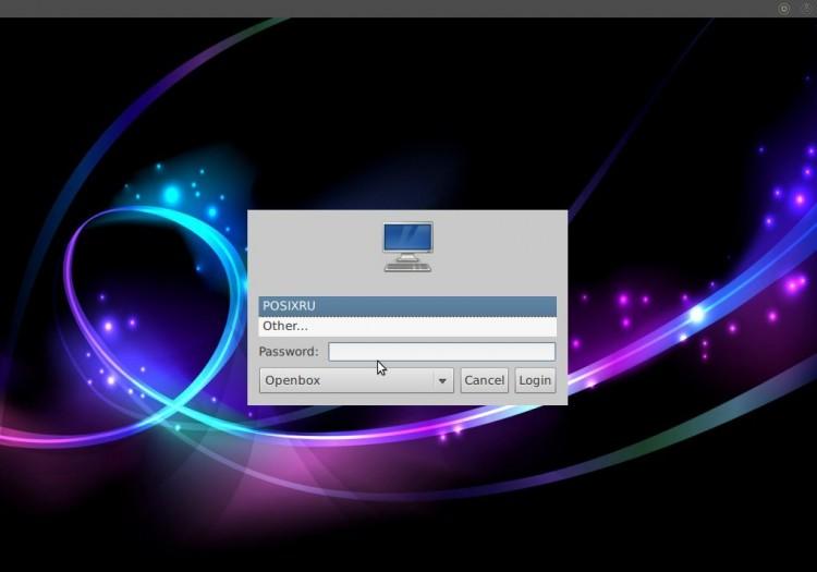 Madbox Linux - первая загрузка