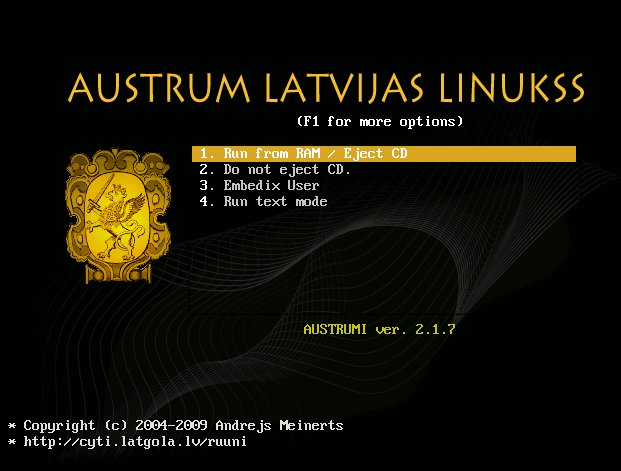 Austrumi Live CD