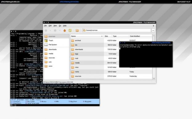 Openbox - менеджер окон