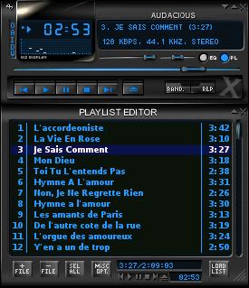 Audacious аудиоплеер